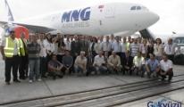 MNG İlk A330-200F Uçağını Personeliyle Kutladı