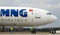 Mng uçağı geri döndü