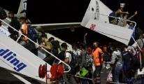 Moria kampından Selanik'e 200 çocuk tahliye edildi
