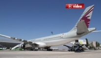 Motoruna kuş giren Uçak Acil İniş Yaptı