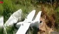 MSB duyurdu: Bombalı yüklü maket uçak düşürüldü
