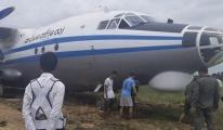 Myanmar Hava Kuvvetleri'ne ait uçak pistten çıktı