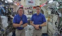 NASA astronotları 2 Ağustos'ta dünyaya ayak basacak