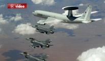 NATO Uçakları Hirliğin Güney Sınırında Uçtu video