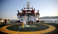 Nene Hatun gemisi heliportu ruhsatı aldı!