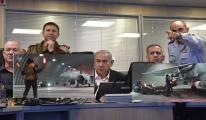 Netanyahu Gazze'ye yönelik hava saldırısını bizzat yönetti