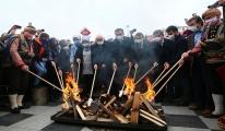 Nevruz ateşi Keçiören'de yakıldı