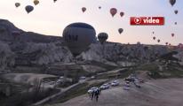 Nevşehir'de Balon Kazası: 18 Yaralı video