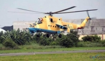 Nijerya'da helikopter düştü!