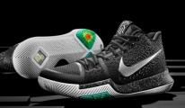 Nike Kyrie 3, farklı zemin tutuşuyla öne çıkıyor.