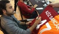 Nobel Ödüllü Aziz Sancar Galatasaray'a Resmen Üye