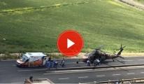 Nusaybin'de Zırhlı Araca Roketli Saldırı: 3 Yaralı