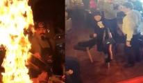 Nusret'te şov yaparken müşterileri yaktılar: 5 yaralı