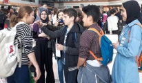 Öğrencilere Havalimanında Uygulamalı Dil Eğitimi