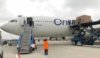 Onur Air ilk kargo uçuşunu gerçekleştirdi