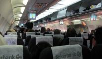 Onur Air'in Malatya uçağı zor anlar yaşadı!