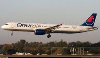 Onur Air uçağı filoya veda etti!