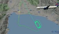 Onur Air uçağı havada 1.5 saat tur attı !