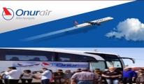 Onur Air yolcuların transferini geç yaptı!