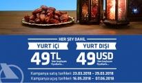 Onur Air'den 49 USD'ye yurt dışına Uçuran Kampanya