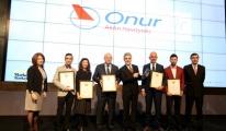 Onur Air'e Marka Ve İtibar Ödülü