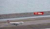 Ordu-Giresun Havaalanı'na ilk uçak bu sabah indi.