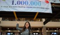 Ordu-Giresun Havalimanında '1 Milyonuncu Yolcu'