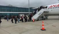 Ordu Havalimanında 128 Aranan Şahıs Yakalandı