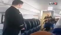 Özel tim uçağa girdi!video