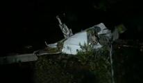 Özel uçak düştü: 6 ölü
