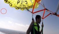 Antalya'da Paramotorla 500 Metreden Böyle Çakıldı