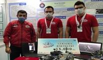 #Patlayıcı tespit eden robotla birinci olan gençler