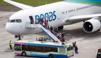 Pegas Fly'ın uçağı 12 saat rötar yaptı