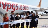 Pegasus Hava Yolları, Venedik'i uçuş ağına ekledi