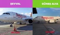 Pegasus'tan yeni uçaklara hoş geldiniz paylaşımı(video)