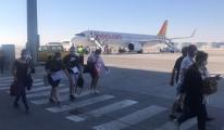 Pegasus uçağı 08:00'de Ercan Havalimanı'na indi!