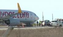 Pegasus uçağı arızalandı! 200 kişi ölümden döndü