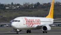 Pegasus uçağı Kharkiv'de tehlike atlattı!