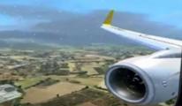 Pegasus uçağı Konya'ya mecburi iniş yaptı