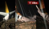 Pegasus Uçağında 162 Yolcu Ölümden Döndü! video