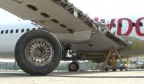 Pegasus uçağının söküm işlemine başlandı!