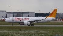 Pegasus'un yeni A320NEO tipi uçağı İstanbul'a geldi