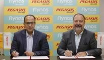 Pegasus ve flynas ortak uçuş anlaşması imzaladı