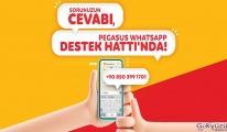 Pegasus WhatsApp Destek Hattı, şimdi 7/24 çevrim içi!