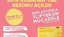 Pegasus'un 2019 ilkbahar-yaz biletleri satışta!