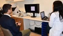 Pilot adaylarına 'CAD Sistemi' ile göz kontrolü
