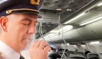 Pilot sigara içti, uçak acil inişe geçti!