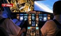 Pilot Uçağa Arı Saldırısı var Kalkamıyoruz video