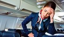 Piloten und Kabinenpersonal von Stress Probleme