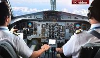 Pilotlar her akşam eve gelemiyor!video